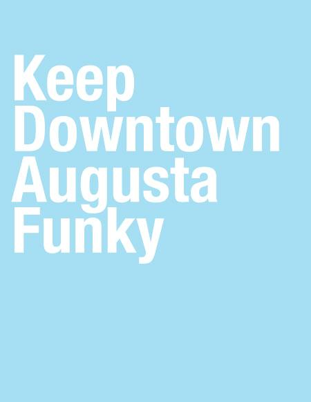 KEEP DOWNTOWN AUGUSTA FUNKY T-SHIRT.jpg