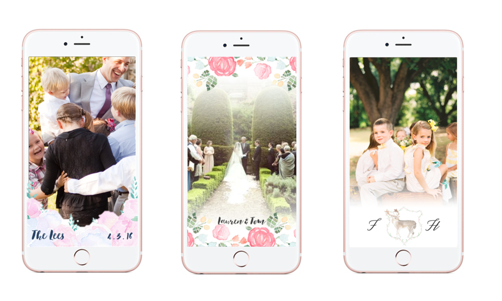 Wedding Gifts Story Of Seasons : Watercolor Snapchat Geofilters for Weddings! - Vie de Vic