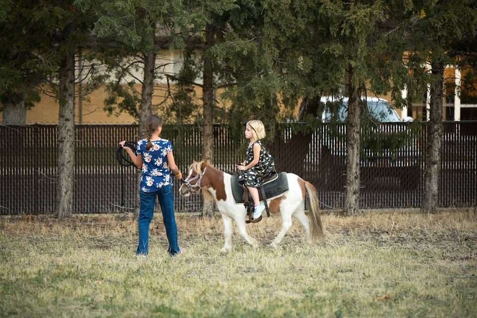 Pony ride at our 2017 Fall Festival