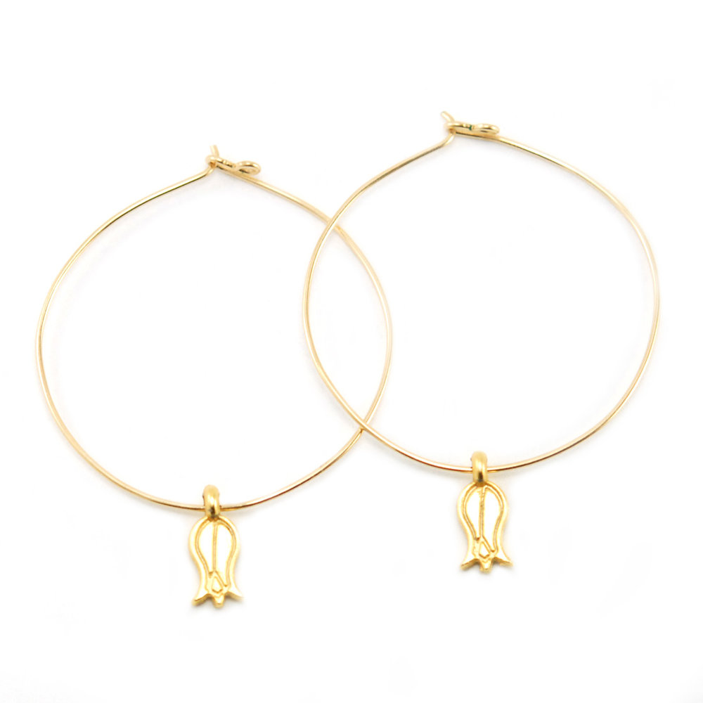 s star in gabi rielle stud jewelry gold lyst women moon metallic earrings vermeil