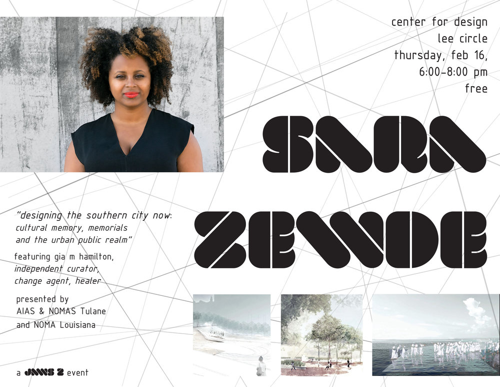 Sara Zewde at the AIA Center for Design