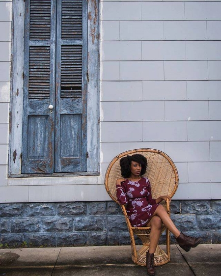 Payme created an ongoing photo series entitled Enthroned. This series showcases the beauty of black femininity and the city of New Orleans.