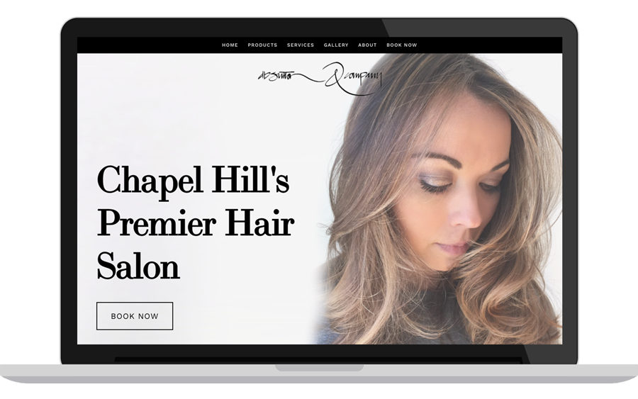 Web Design - D.B. Sutton Salon