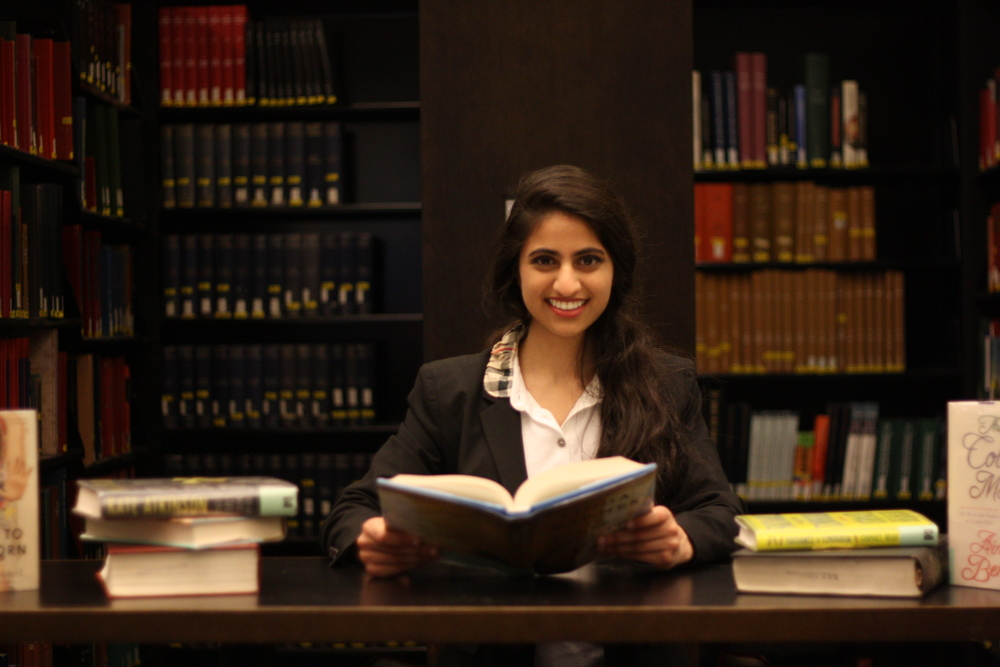 Freshman Hediya Sizar's Foundation Gives Books to Underprivileged Children April 28, 2014