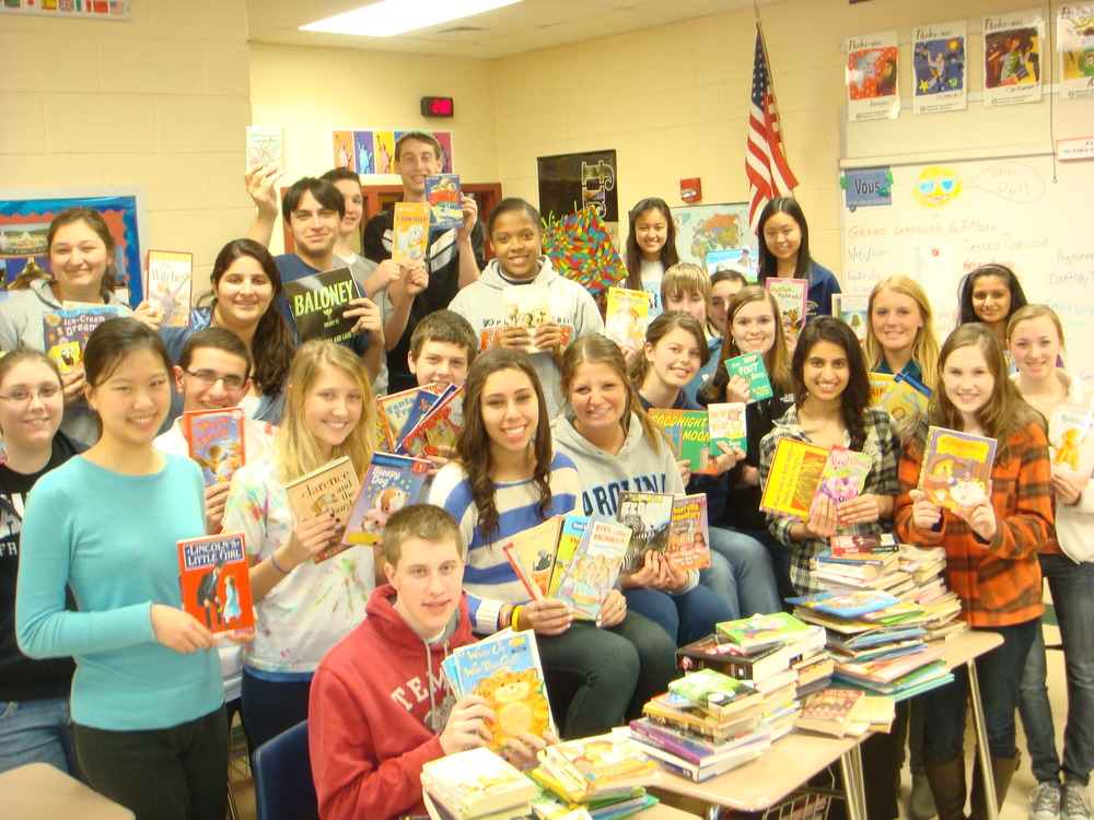 Bring On the Books Drive at a Corp Service Near You   March 22, 2013
