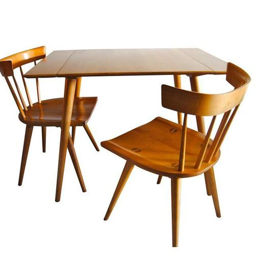 Mid Century Modern Paul McCobb Planner Group Solid Maple Dining