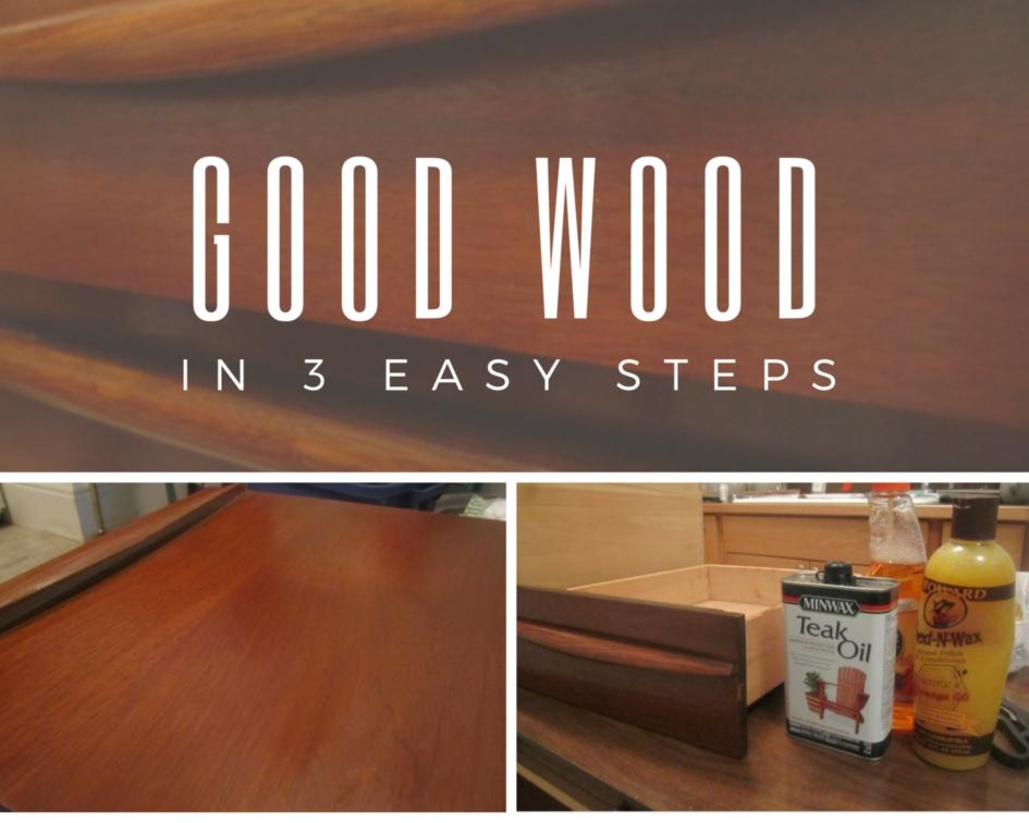 refinishing vintage furniture tutorial