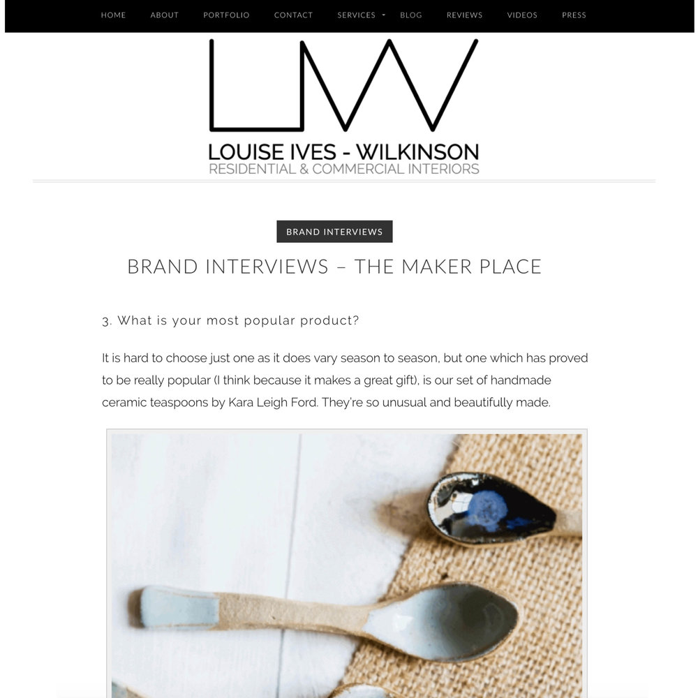 Louise Ives - Wilkinson Interiors