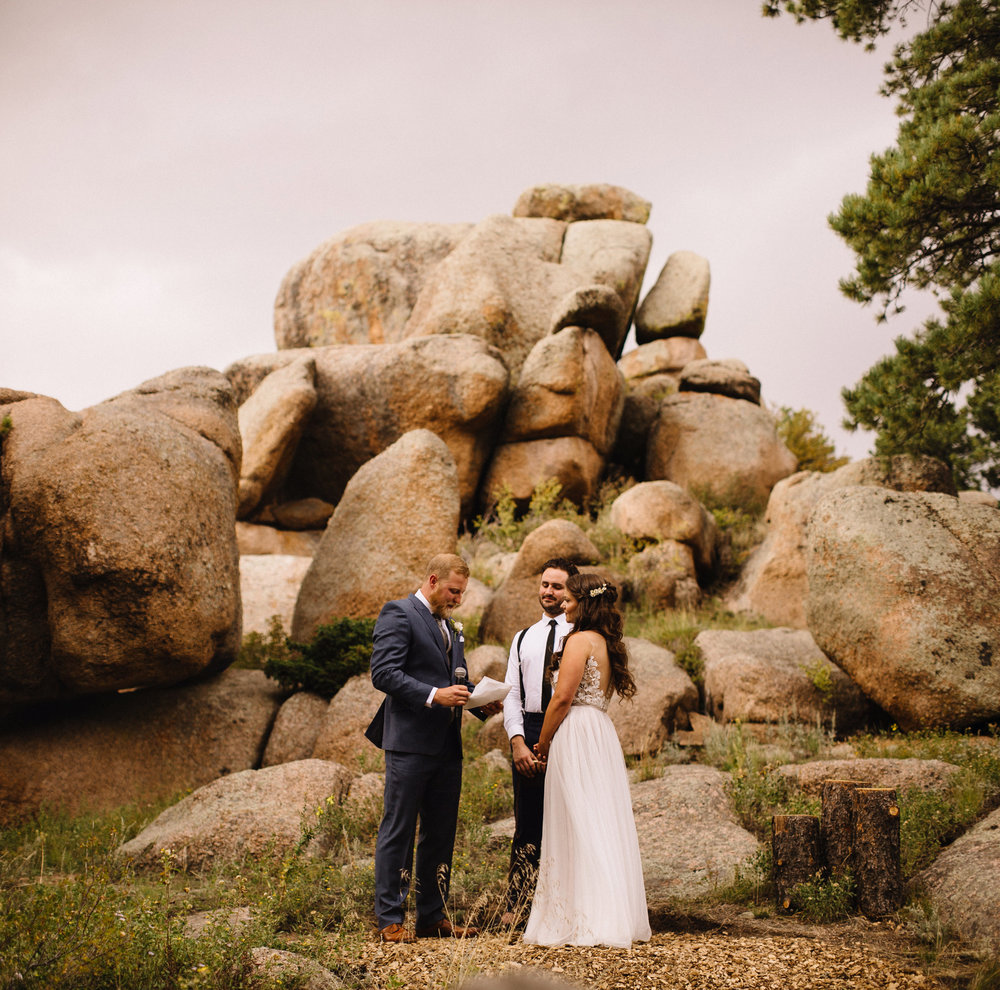 Liz Osban Photography Vedauwoo Buford Wyoming Happy Jack Wedding Elopement Destination Small Forest Cheyenne Laramie Medicine Bow National Forest Ceremony Sarah Taylor7.jpg