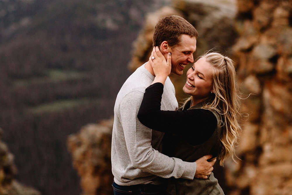 Rocky Mountain Engagement National Park Engaged Photos Wedding Elopement Portrait Mountains Trail Ridge Rd Peak Alpine Dress Lulus Rules Permit Photo Adventure Love Couples Destination Liz Osban photography Cheyenne Wyoming31.jpg