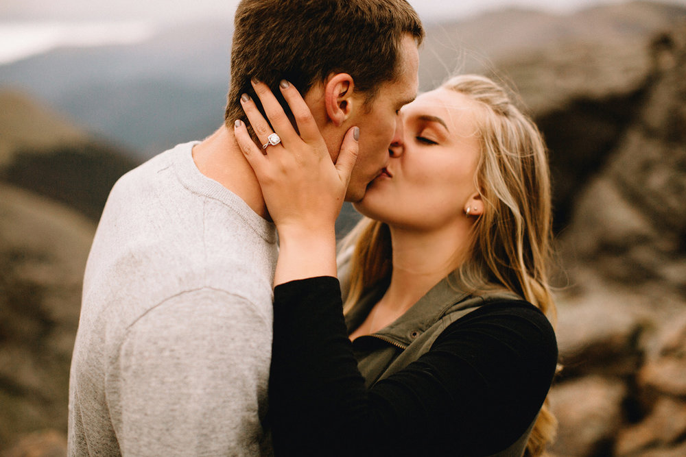 Rocky Mountain Engagement National Park Engaged Photos Wedding Elopement Portrait Mountains Trail Ridge Rd Peak Alpine Dress Lulus Rules Permit Photo Adventure Love Couples Destination Liz Osban photography Cheyenne Wyoming33.jpg