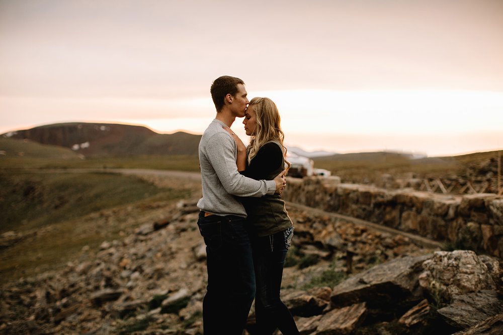 Rocky Mountain Engagement National Park Engaged Photos Wedding Elopement Portrait Mountains Trail Ridge Rd Peak Alpine Dress Lulus Rules Permit Photo Adventure Love Couples Destination Liz Osban photography Cheyenne Wyoming47.jpg
