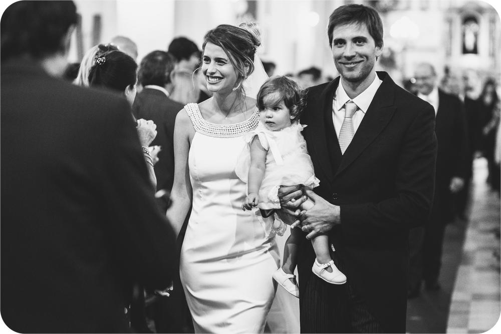 fotografía de casamiento Iglesia Catedral