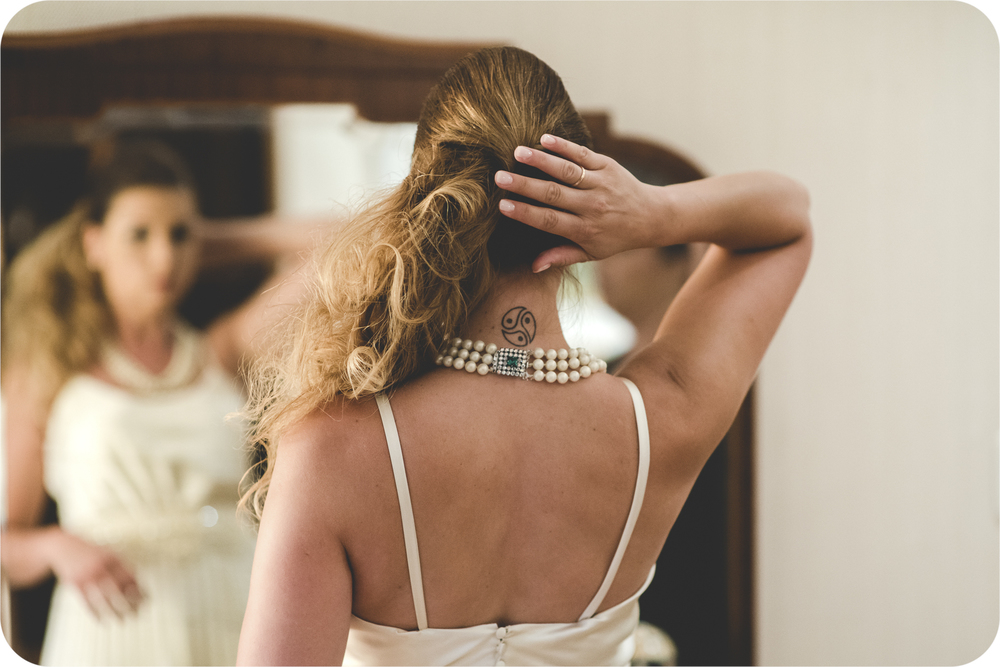 Preparativos de boda en Ezeiza