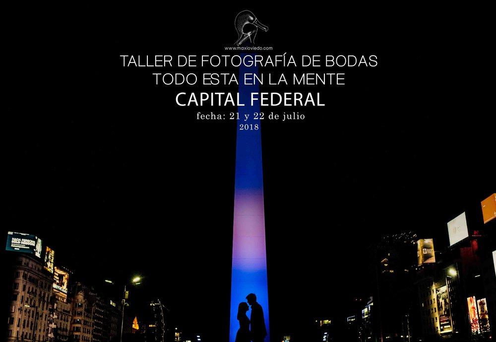 workshop de fotografia de bodas en capital federal