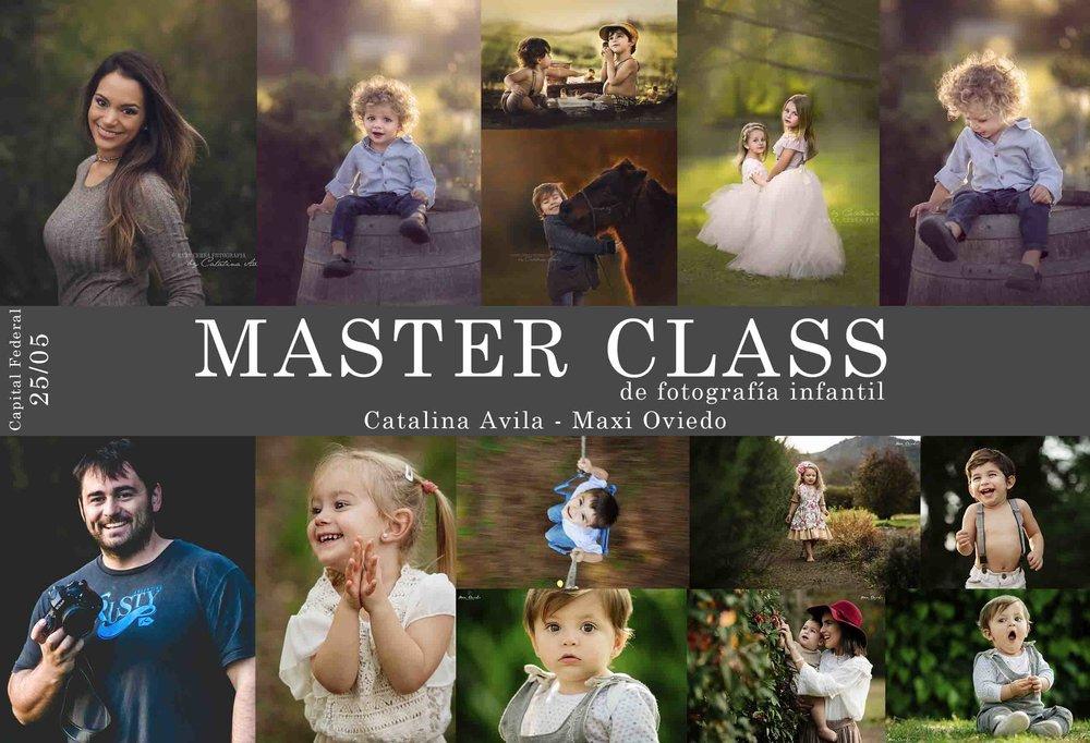 Master Class Cata Avila - Maxi Oviedo