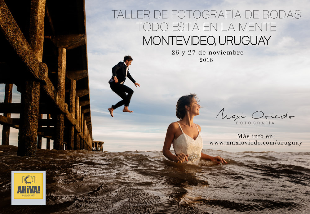WORKSHOP DE FOTOGRAFIA DE BODAS EN MONTEVIDEO