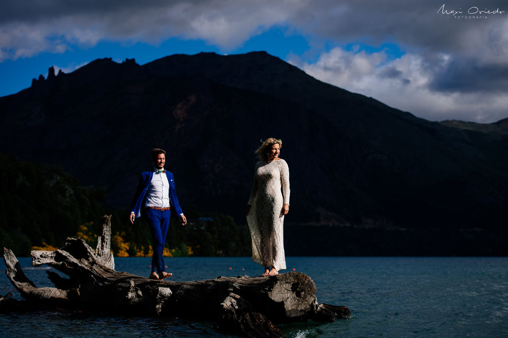 TRASH THE DRESS EN BARILOCHE