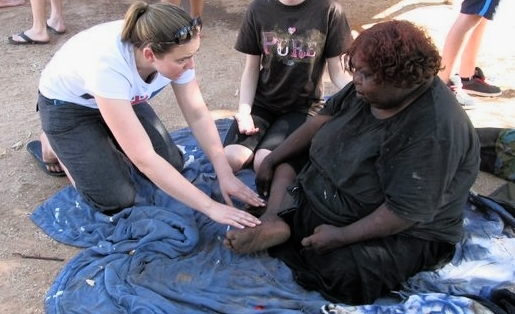 Indigenous community, Alice Springs 2010