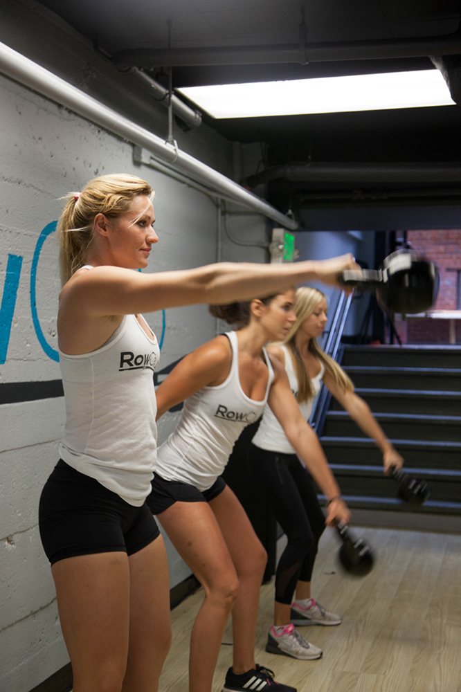 RowCore- Rowing and Core training class in SF