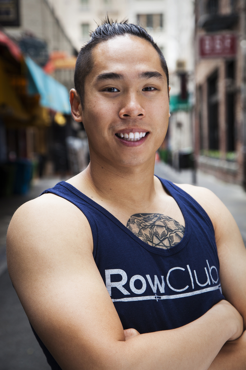 Daniel L. Rowing Fitness Instructor San Francisco