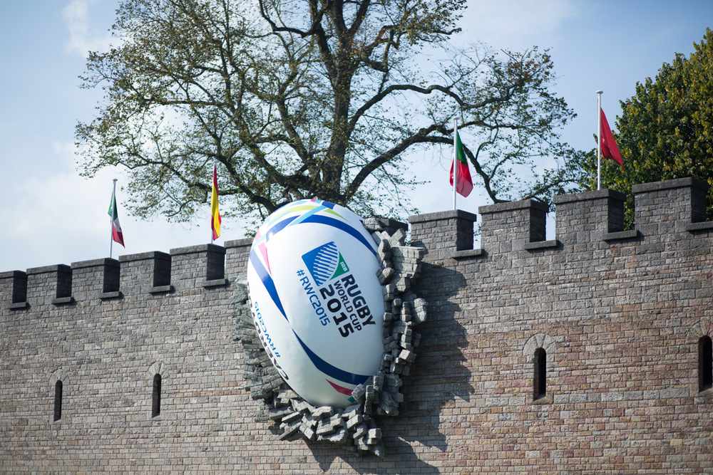 Super clever marketing for the Rugby World Cup.