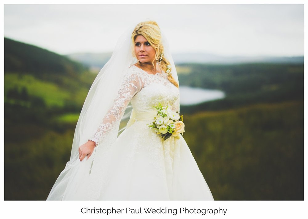 Christopher Paul Cardiff Wedding Photographers Do You Believe Bridal Brecon Styled shoot ideas Bridal Dress inspiration