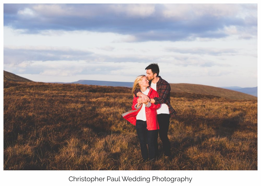 It's important to hang out before the wedding day, choosing a photographer is not a quick decision. We had a blast in Brecon on this engagement shoot.