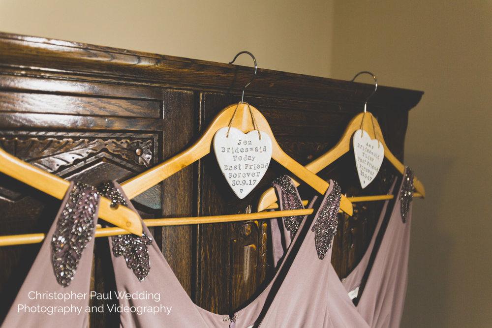 Wedding Details at Caer Llan