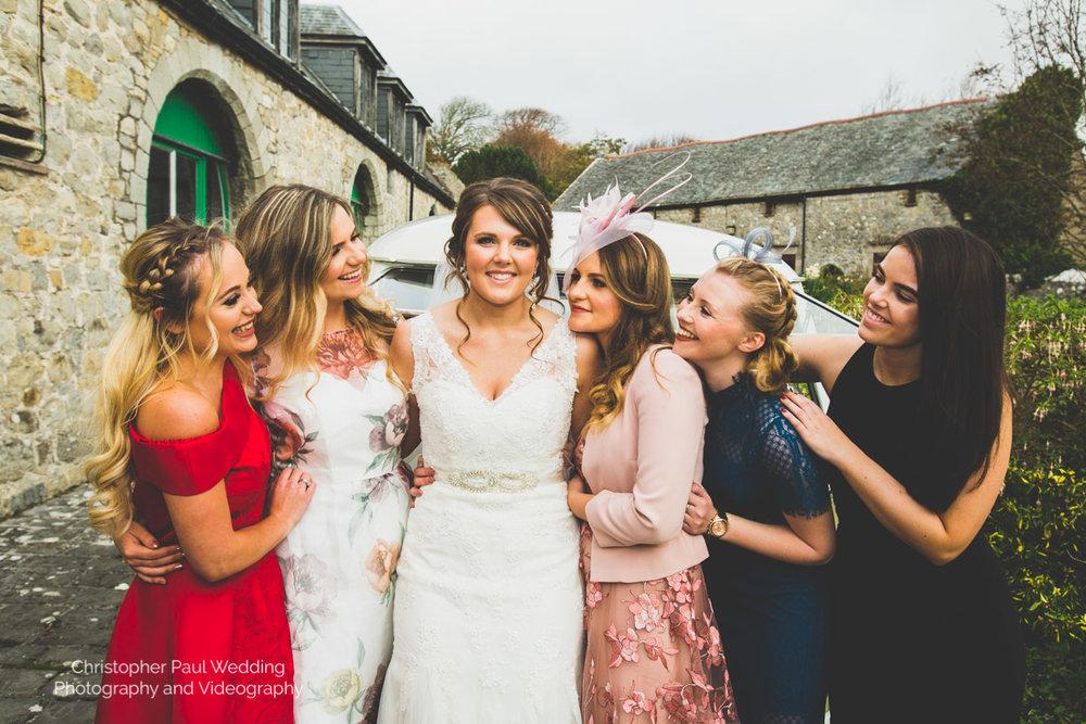 South Wales Wedding Photographers St Donat's Art Centre Llantwit Major