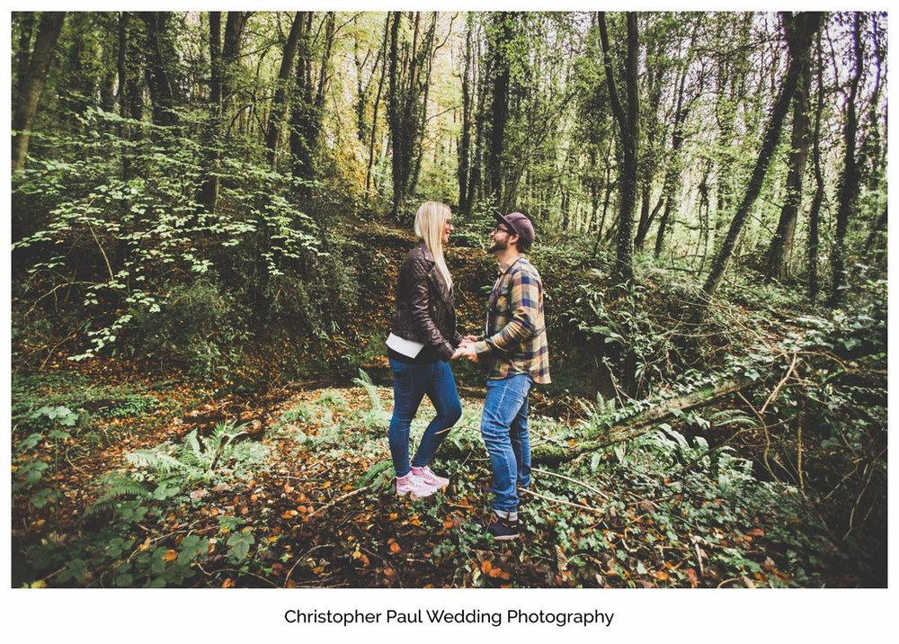 Alone together Cardiff Wedding Photographers Engagement session Barry