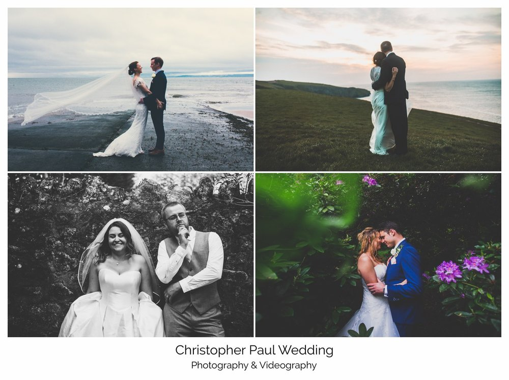 Some of my favourite wedding photos from last year, mostly in South Wales but one from Cornwall too