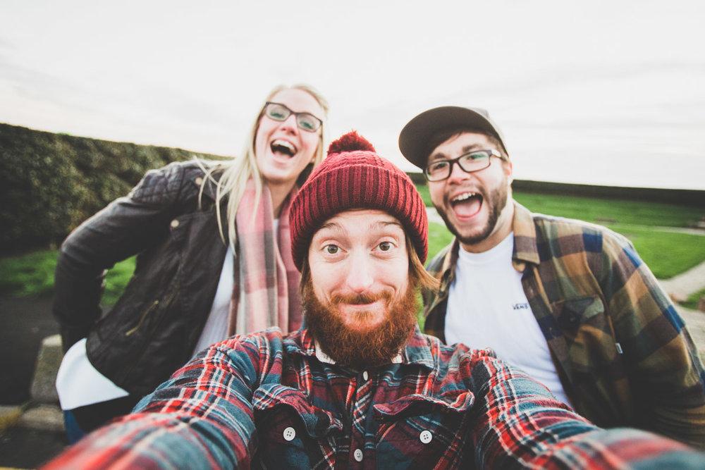 A quick Selfie from an engagement shoot