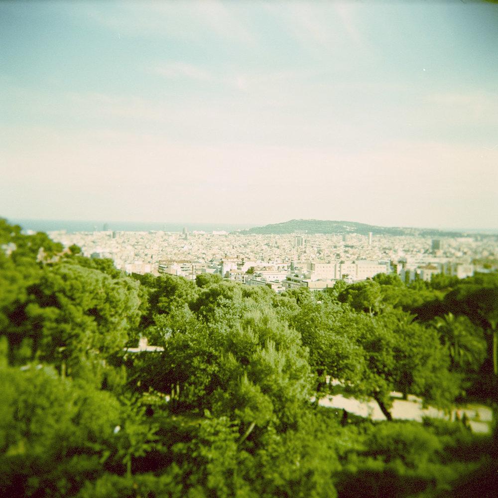 Barcelona shot on one of my Holga film cameras