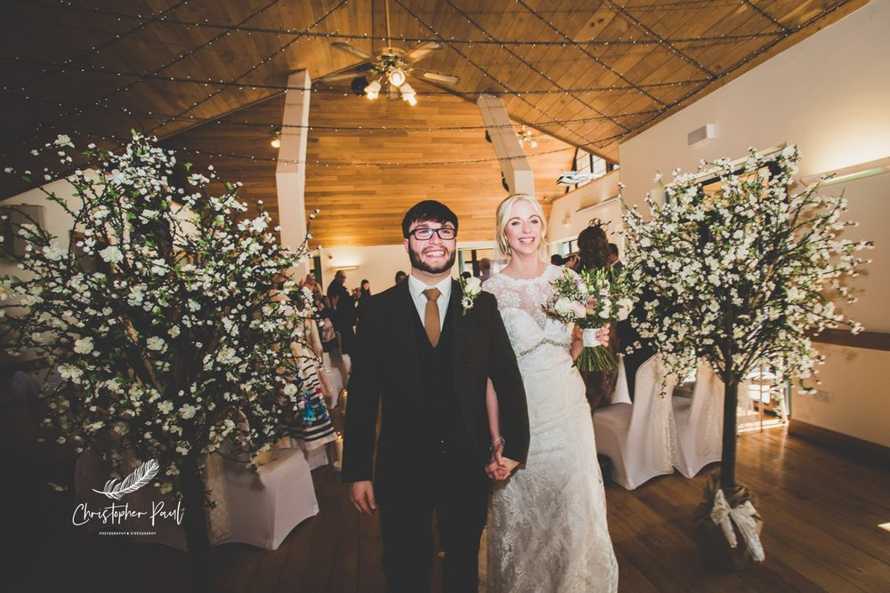 Canada Lake and Lodge Wedding Ceremony