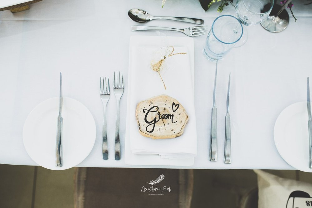 Wedding table ideas Canada Lake and Lodge