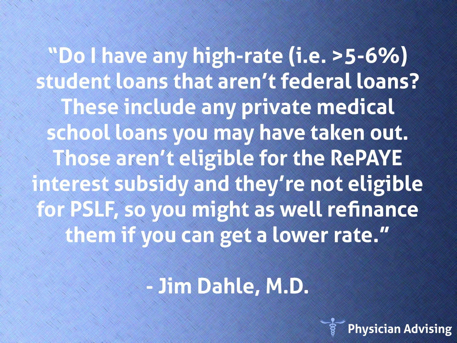Physician Advising Quote 149 Fee Only Financial Advisor For Doctors