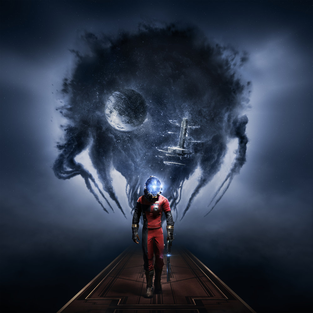 Some of Prey's early promotional art.