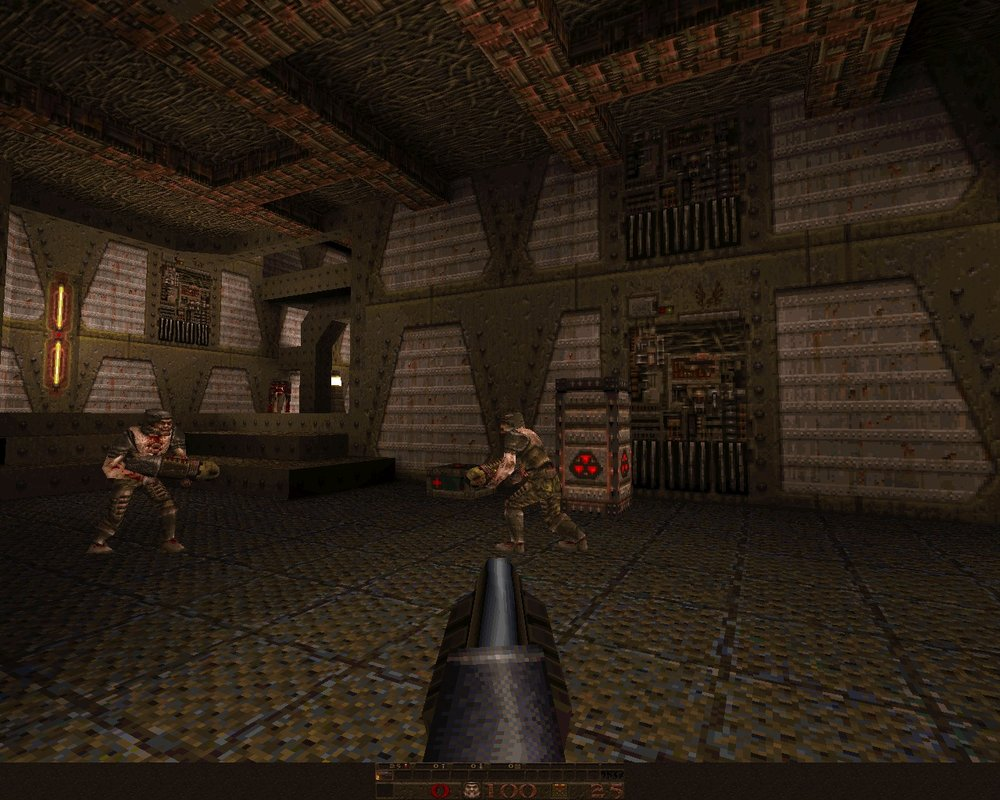 Quake wasn't incredibly pretty by today's standards but it did have an awesome soundtrack.