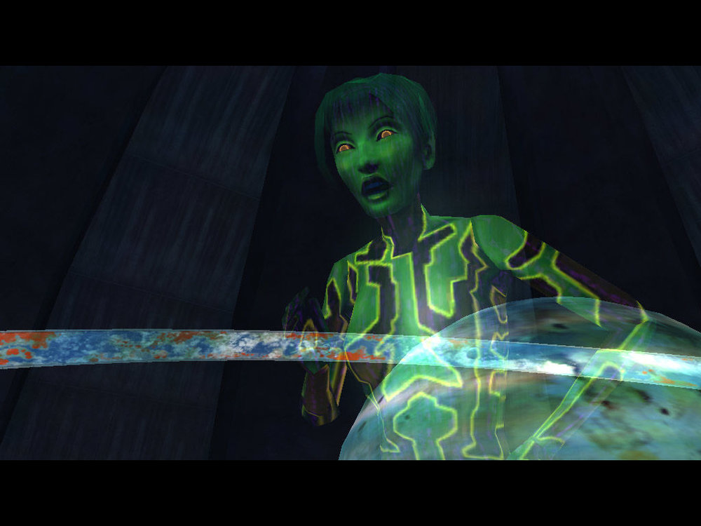 Halo: Combat Evolved Cortana