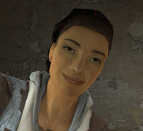 Alyx Vance first appearance in-game