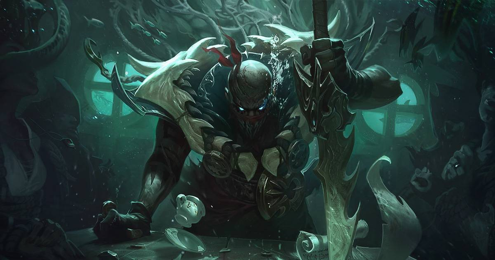 League of Legends newest Champion, Pyke