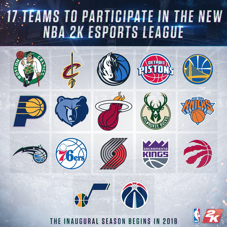 17 NBA teams are participating in the NBA 2K Esports League. Officially sponsored by the NBA, it's a huge step for esports and it's mingling with sports.