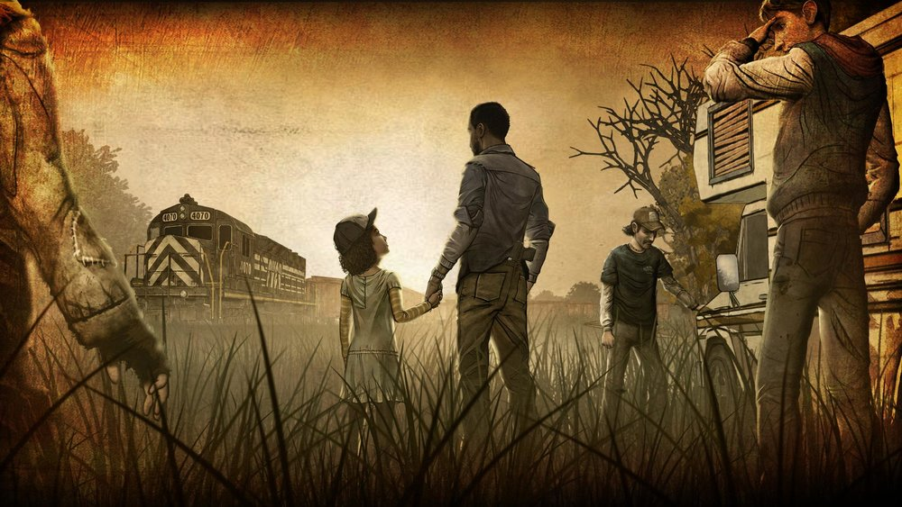 The Walking Dead's final episode drew critical acclaim for it's harsh emotional story, that  drew tears  from many players.
