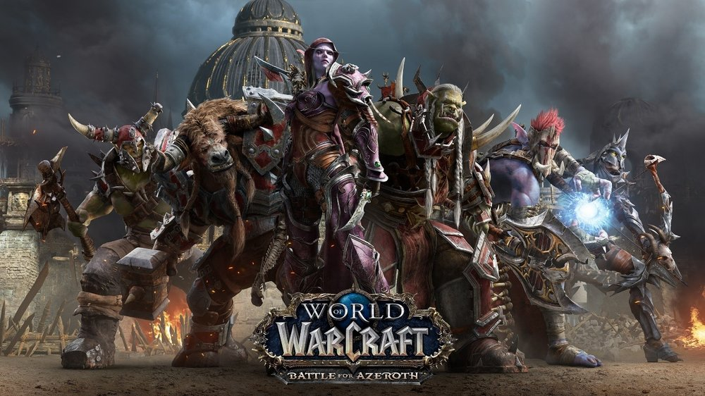 Warcraft recently released a new expansion, Battle for Azeroth, that has helped re-establish Warcraft as the dominant western MMO.
