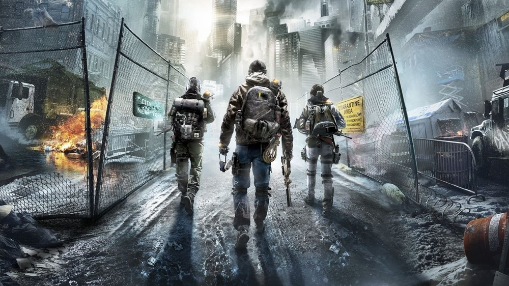 """An impressive wallpaper of Tom Clancy's The Division, which takes place in a post-apocalyptic New York. The game itself had an interesting premise, that Ben cites as one of """"the more interesting titles I've played."""""""