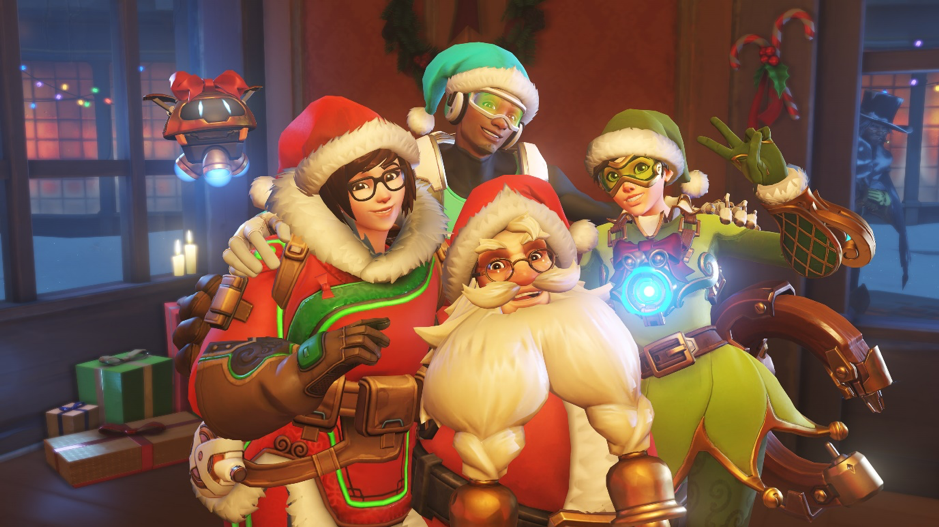 Merry Christmas from the Overwatch Squad!