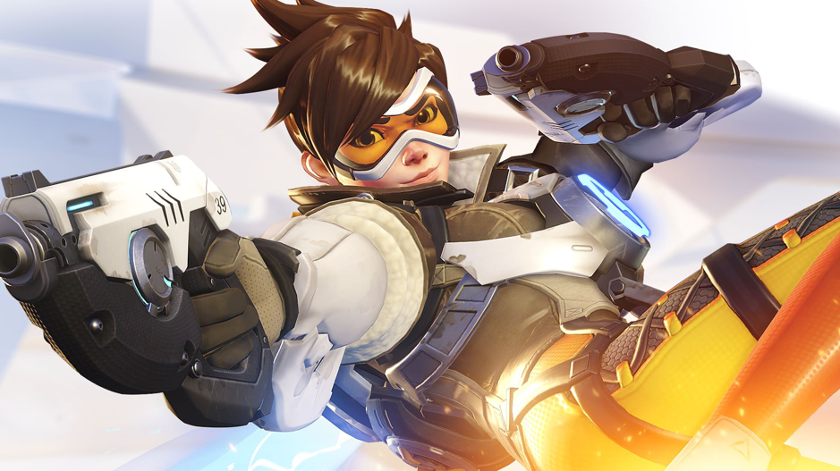 The poster child of Overwatch, Tracer