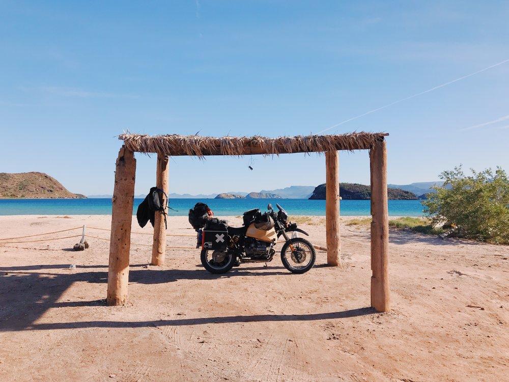 Playa Santispak, Mulege, Mexico
