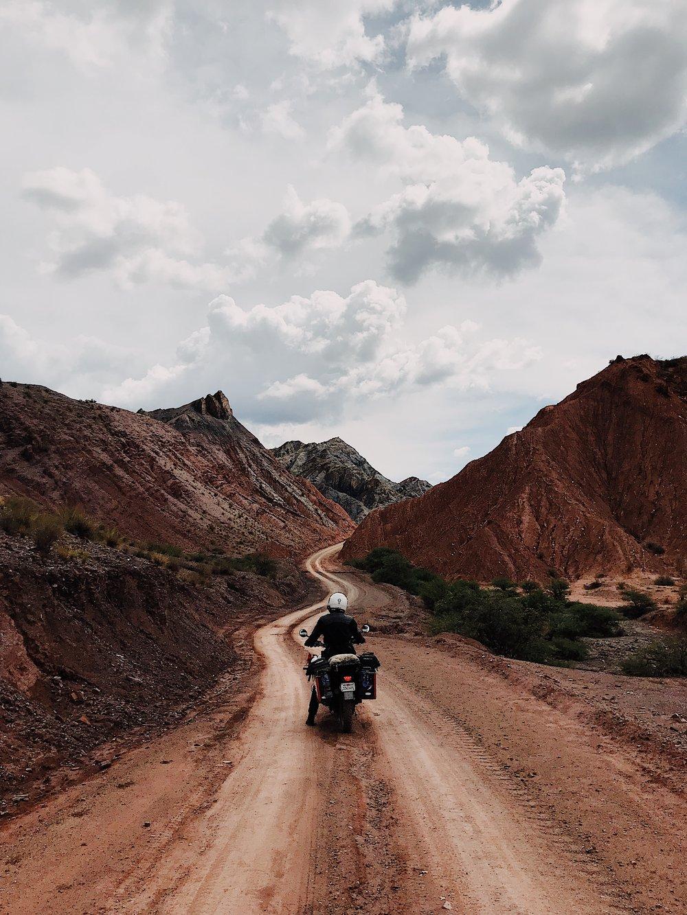 Sunday ride through the Quebrada Tupiza, Bolivia